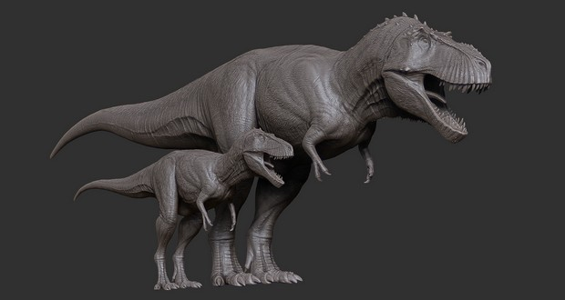 Baby and juvenile dinosaurs