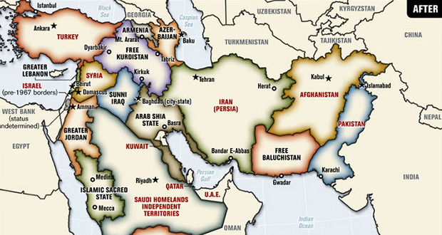 Middle East's borders