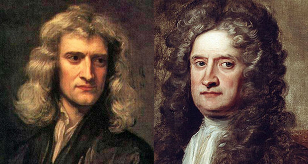 Issac Newton and Robert Hooke
