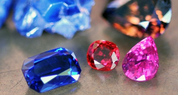 Rubies and sapphires