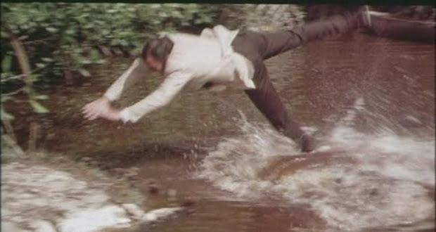 Infamous crocodile jump