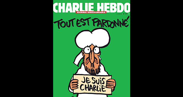 Copy of Charlie Hebdo magazine