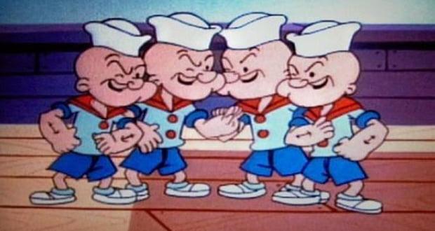 Popeye nephews