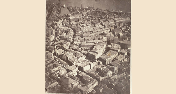 Boston aerial photograph