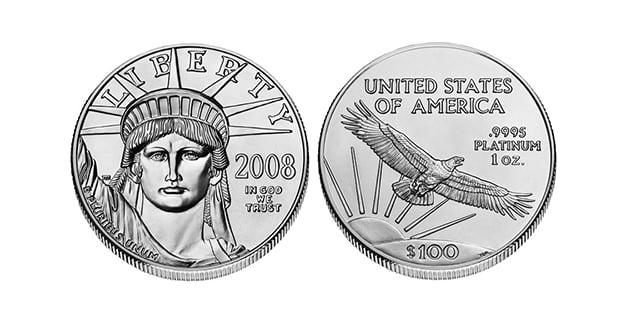$100 platinum coin