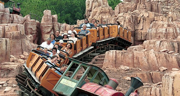 Thunder Mountain roller coaster