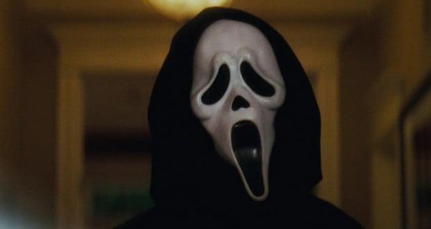 Ghostface mask