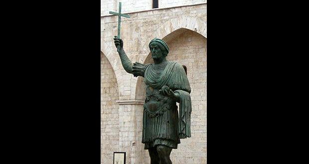 Valentinian I death