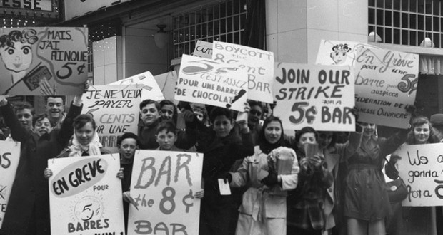 The Candy Bar Strike