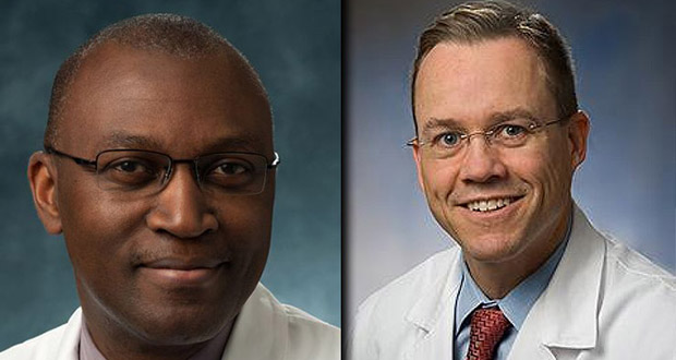 Dr. Oluyinka Olutoye and Dr. Darrell Cass