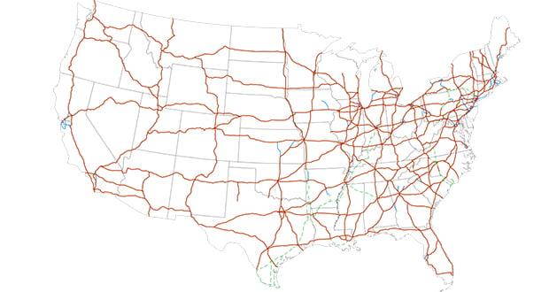 US Interstate Highway