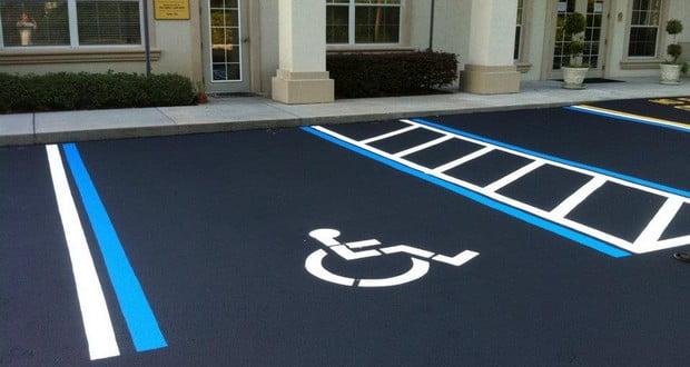 Handicap car parking