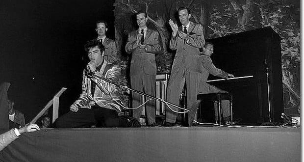 1957 Elvis Seattle concert