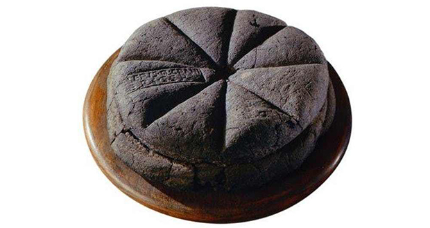 Preserved loaf of bread