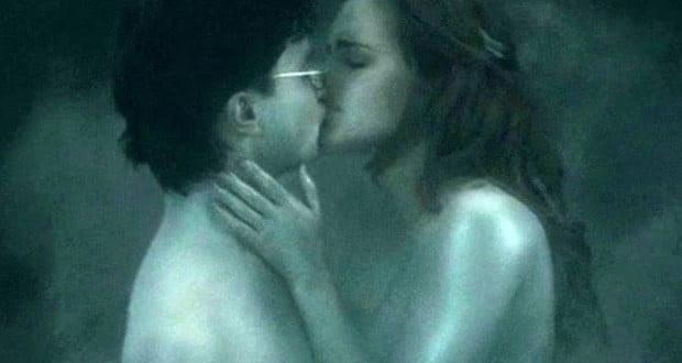 Harry Hermione's Kiss