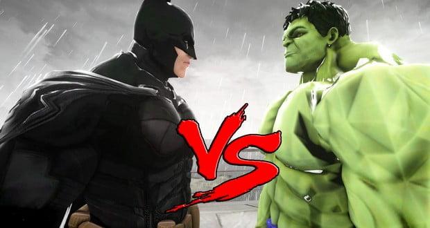 Batman vs Hulk