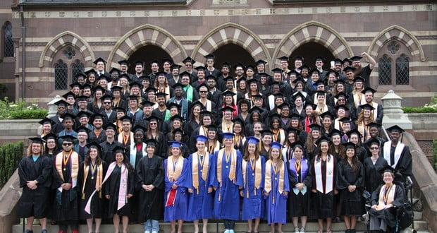 Gallaudet graduates