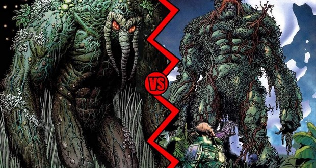Man-Thing & Swamp Thing