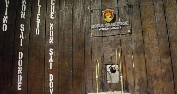 Caldari di Ortona wine fountain