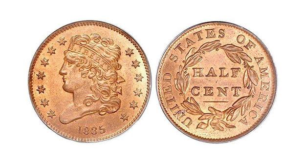U.S. Half-Cent