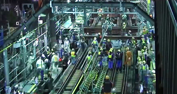 Tokyo Subway construction