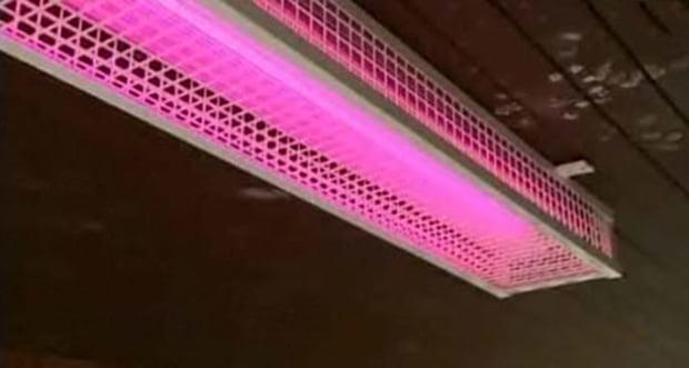 Special pink lights