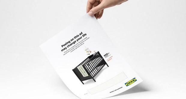 IKEA pregnancy ad