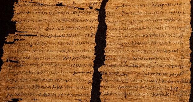Cleopatra papyrus handwriting