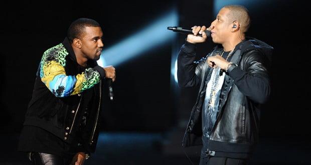 Kanye and Jay-Z