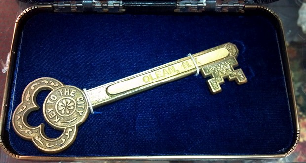 Giving the key to the city