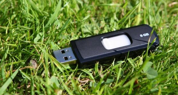 Drop USB experiment