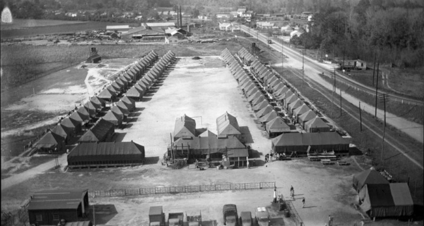 POW camps
