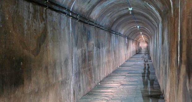 Inchindown tunnels