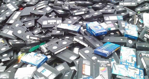 Digital VHS tapes