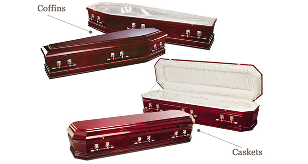Casket and coffins