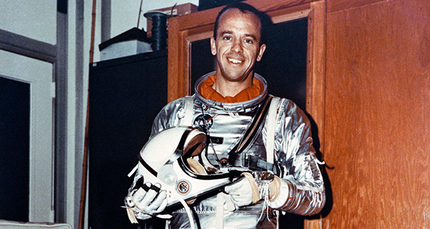 Alan Shepard's spacesuit