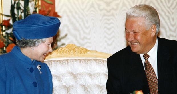Boris Yeltsin and Queen