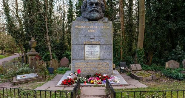 Karl Marx's grave