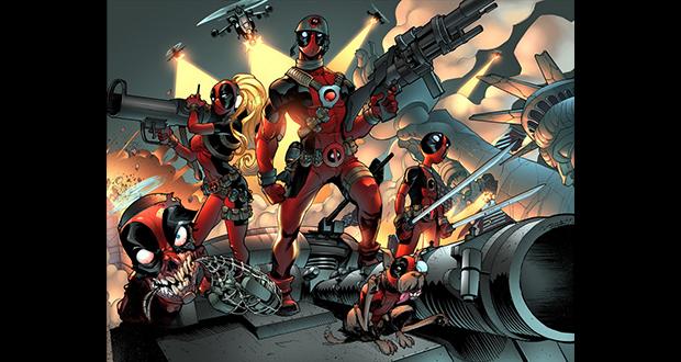 Deadpool's team