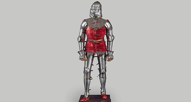 European soldiers plate armor