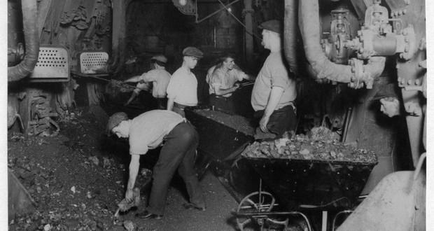 Titanic's coal stores