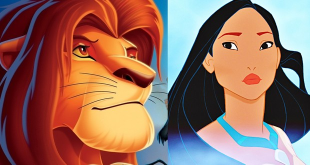 Image result for lion king vs pocahontas