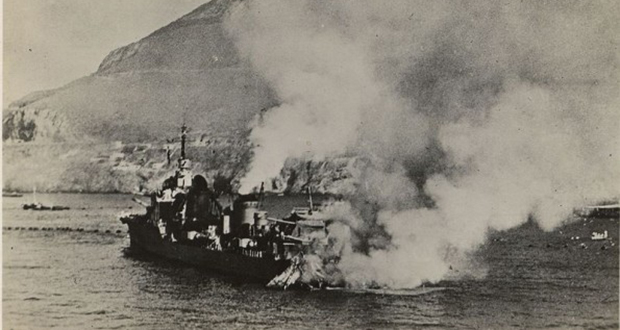 France and Royal Navy battle