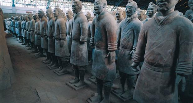 Mausoleum of Qin Emperor