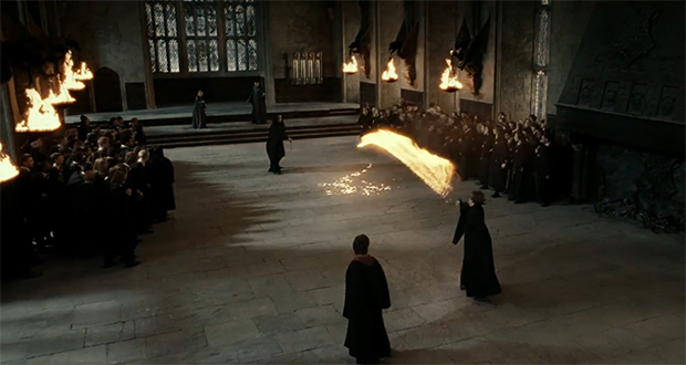 Snape vs McGonagall