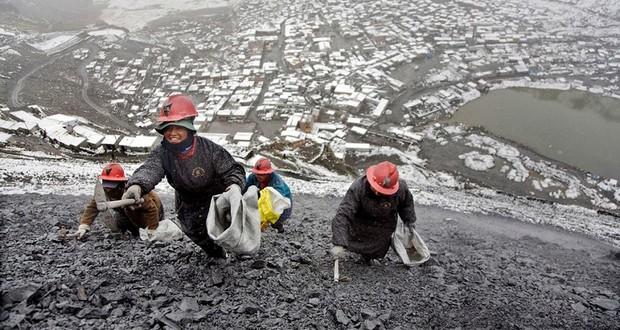 Rinconada gold mine