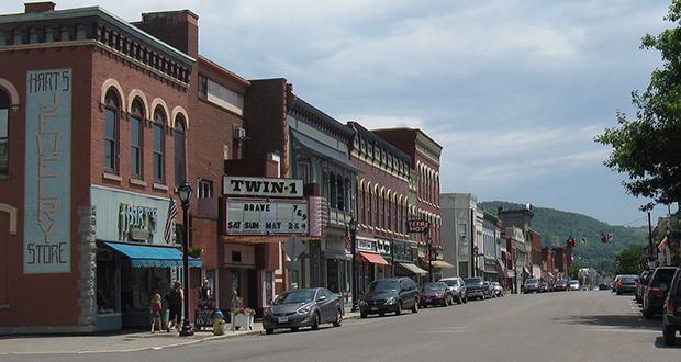 Wellsville town