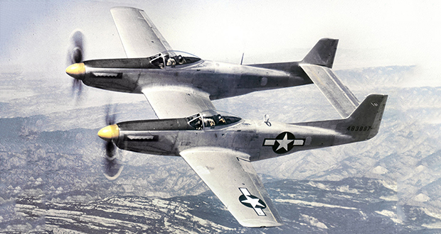 F-82 Twin Mustang fighter plane
