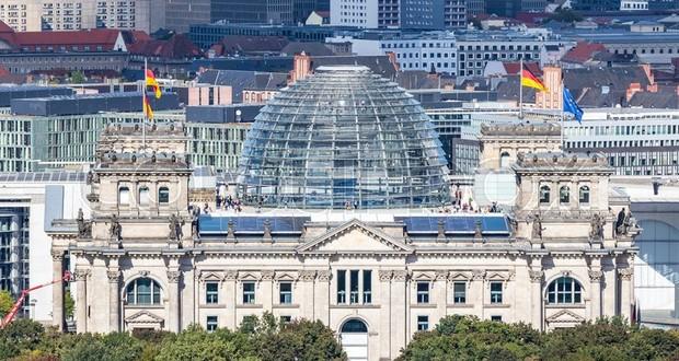 German Parliament building