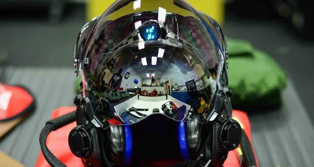 F-35 fighter helmet